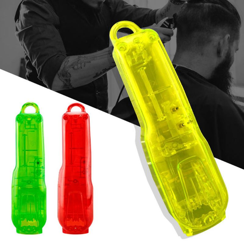 1Set Clear Hair Clipper Front Back Housing Cover Lid Barber Hair Trim Accessory