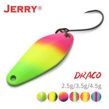Jerry Драко микро рыболовная ложка форель приманки UL УФ Цвета Сверхлегкий рыболовные снасти пресноводные искусственные приманки