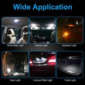 Image 5 - NAO T10 LED 10 adet W5W LED ampul 3030 araba ışık 5W5 dönüş sinyali otomatik işıkları 12V lisans plaka ışık gövde tavan aydınlatması aracı