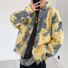 Autumn New Camo Jacket Men Fashion Printing Military Wind Casual Man Streetwear Loose Hip Hop Bomber M-2XL
