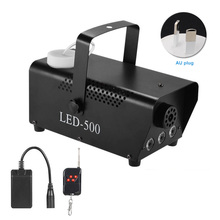 RGB Fog Machine Smoke Wireless Remote Control Multi color Party Light Stage Portable