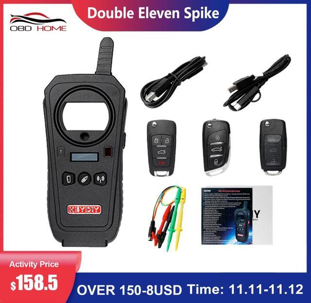 OBD2 keydiy Car Diagnostic Tool KD X2 kd X2 Remote Maker Unlocker with Free ID48 96bit Transponder Copy Function English Version