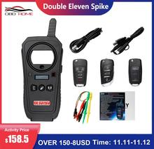 Obd2 keydiy ferramenta de diagnóstico do carro KD X2 kd x2 remote maker unlocker com id48 livre 96bit transponder função cópia versão em inglês