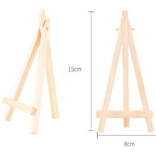 8*15cm  Wooden mini easel Stands Table Card Stand holder Small Picture Display for Home Party Wedding Decoration Easel