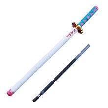 1Pc Kreative Metall Waffe Form Dämon Slayer Kimetsu keine Yaiba Anime Gel Stift für Schreiben Schreibwaren Stift