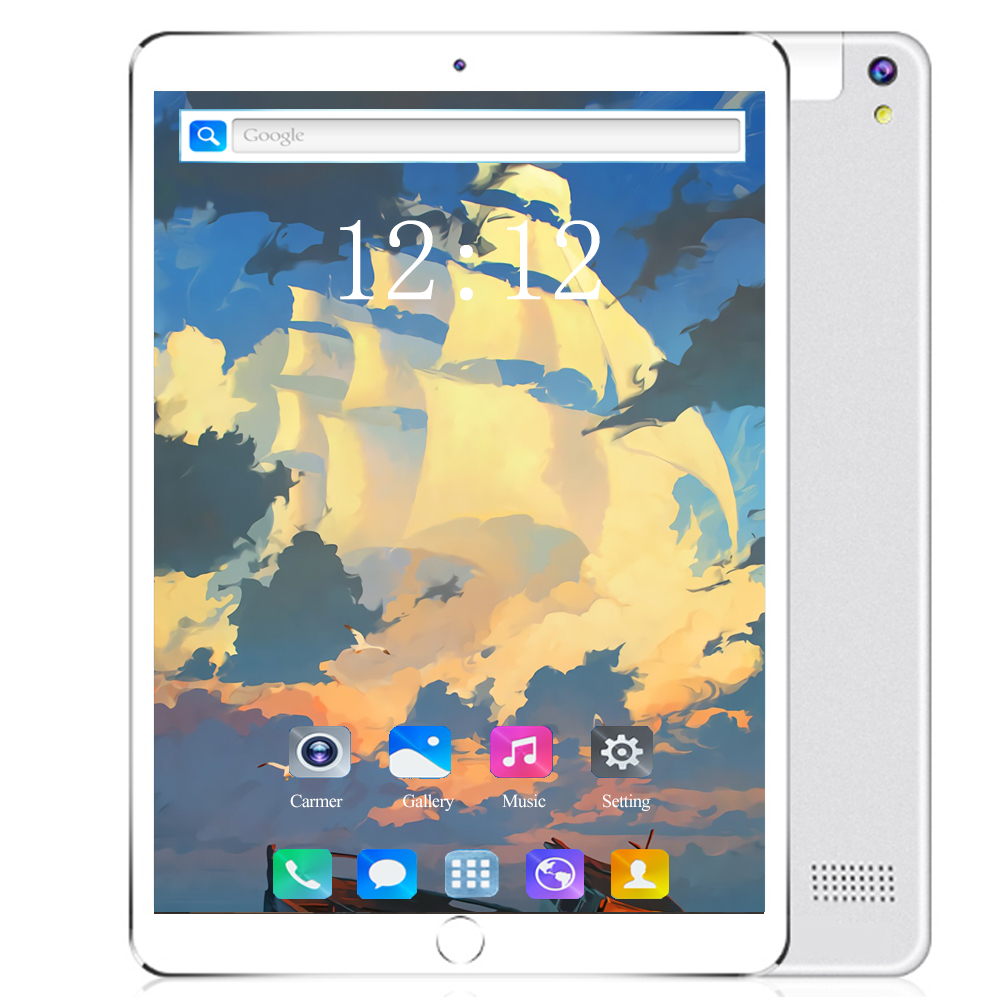 Genuine 3G/4G LTE Tablet Pc 10 Inch Octa Core Android 8.0 RAM 6GB ROM 128GB Dual SIM Card Call WIFI GPS Smart Phone Tablets 10.1