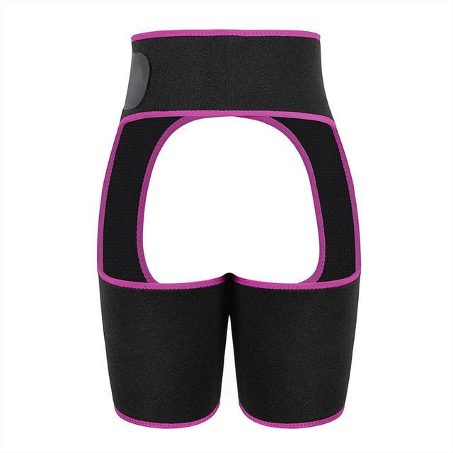Sweat Neoprene Thigh Trimmer High Waist Leg Shapers Slimming  for sports Waist Trainer Shapewear Fat Burning Compress Belt 4