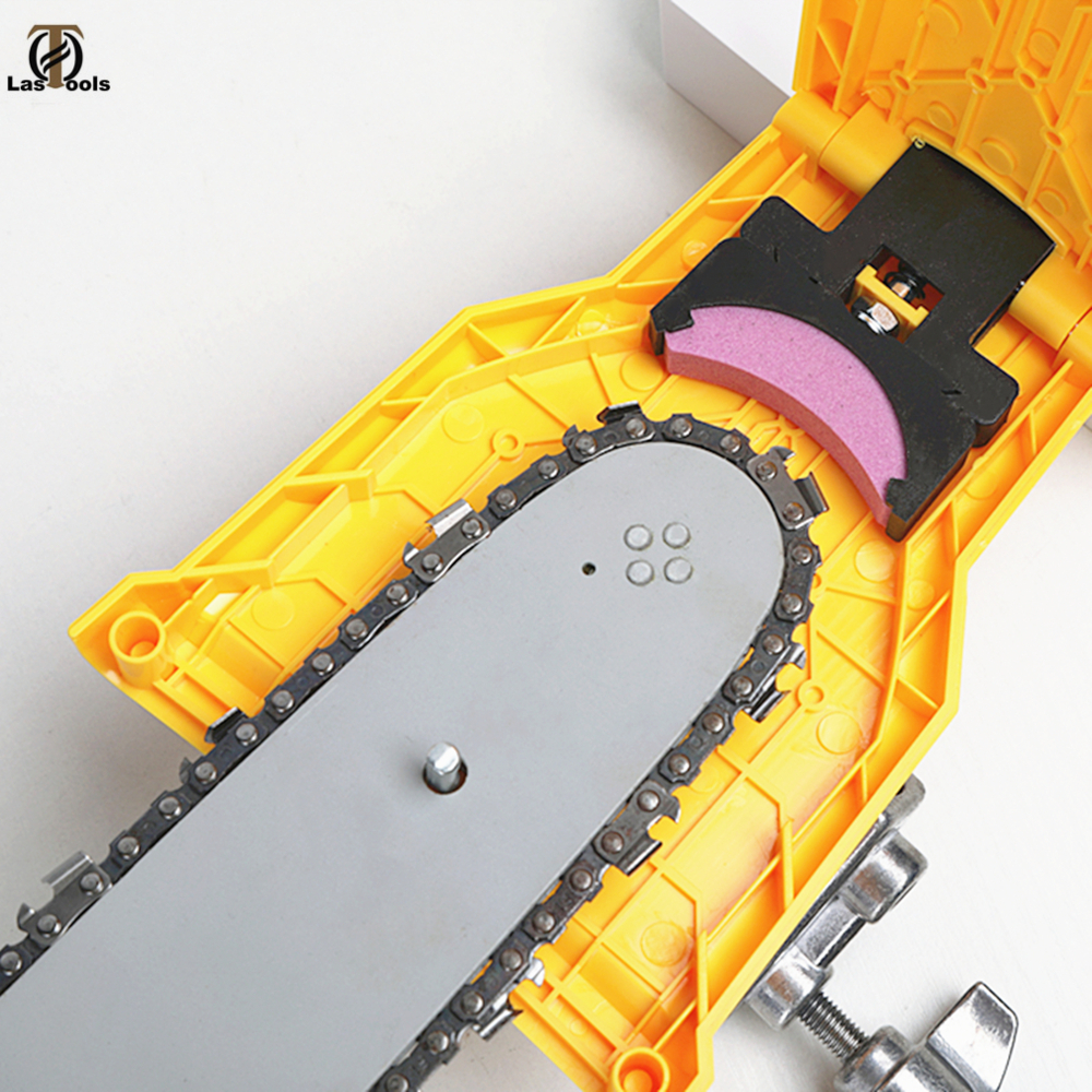 Tronçonneuse dents affûteuse tronçonneuse Portable Durable facile puissance forte barre-montage meulage rapide tronçonneuse chaîne affûteuse outil