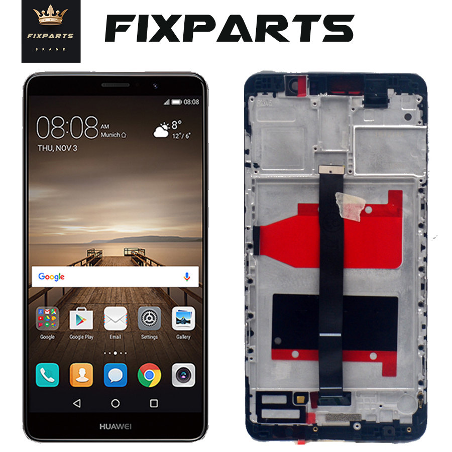Original New Display For Huawei Mate 9 LCD Display With Frame Touch Screen Digitizer Assembly Replacement For Huawei Mate 9 Lcd