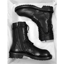 Женские ботинки в английском стиле короткие с боковой резиновой