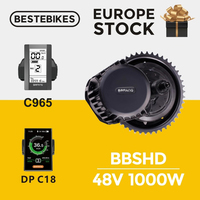 BBSHD 48 V 1000 w bbs03 do motor Bafang meados de acionamento do motor bicicleta elétrica kit de conversão do motor ebike velo electrique|1000w motor|bicycle motor kit|motor kit -