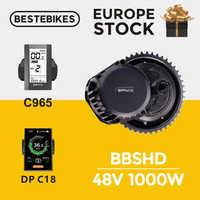Bafang motor bafang BBSHD 1000w 48V bbs03 mid drive bafang motor electric bike motor conversion kit 1000w