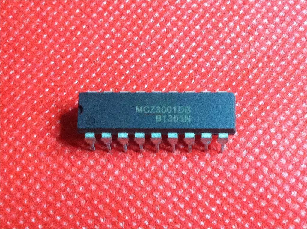 1pcs/lot MCZ3001DB MCZ3001D MCZ3001 DIP-18 In Stock