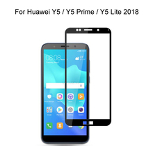 Tempered Glass For Huawei Y5 2018 / Y5 Prime 2018 / Y5 Lite 2018 Full Cover Screen Protector Tempered Glass