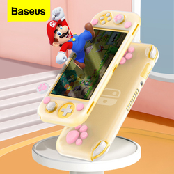 Baseus Silicone Case For Nintendo Switch Lite Cute Protective Cover Shell For Nintend Switch Lite Grip Coque Fundas Accessories