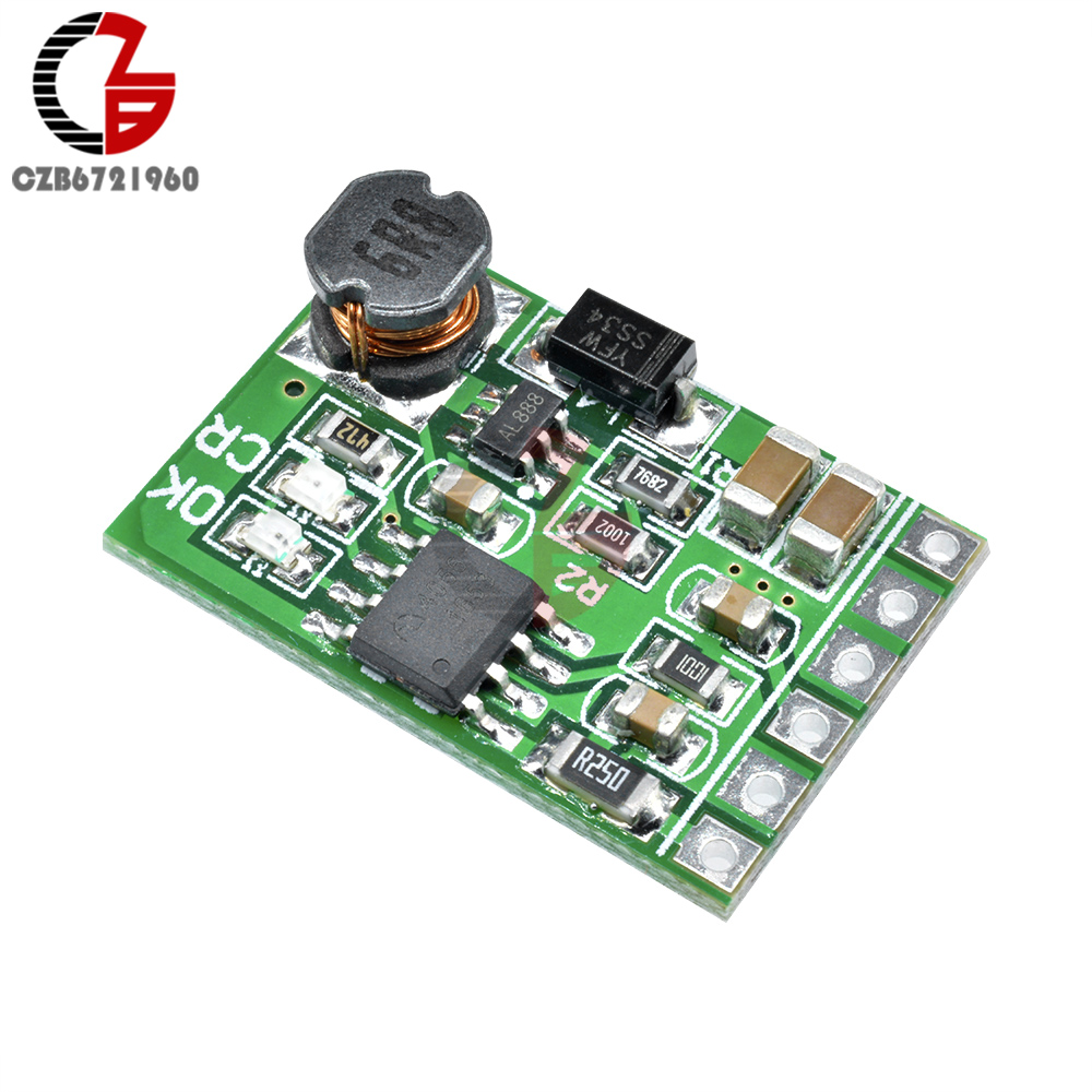 3.7V 4.2V 18650 Lithium Battery Charger Charging Module 5V Discharger Step Up Boost Board For DIY UPS Mobile Power Bank