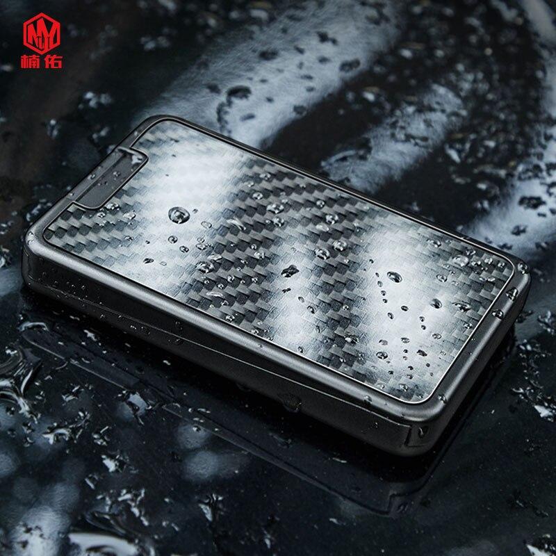 1pc mini portátil cartão de crédito cartão