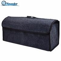 ESPEEDER araba organizatör çantası taşınabilir katlanabilir çok amaçlı bagaj çantası Stowing Tidying paketi battaniye aracı araç alet kutusu