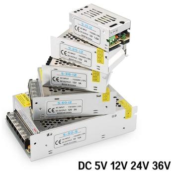 Power Supply 220v to AC-DC 5V 12V 24V Switching Power Supply 5V 12V 24V 36V 48V 1A 2A 3A 5A 10A 220V TO 5 12 24 V Power Supply switching power supply 250w 12v 24v cctv power supply 250w smps 220acvolts dc power supply 12v 20a 24v 10aswitching power supply