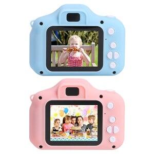 Image 1 - 1080P 720P Mini Digital Camera for Children Kids Baby Cameras Camcorder Video Child Cam Recorder Digital Camcorders Blue Pink