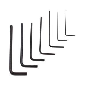 Image 2 - Mini clé Allen hexagonale, tournevis, Kit doutils manuels, Kit doutils manuels, Micro hexagonale de 0.7 à 3mm, 7 pièces/ensemble