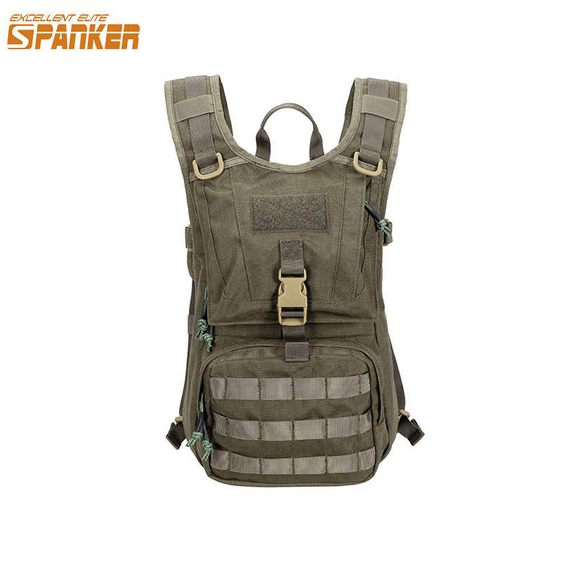 EXCELLENT ELITE SPANKER Tactical  Molle Hydration Backpack Military Cycling Dual Use Hydration Backpacks Vest Backpack