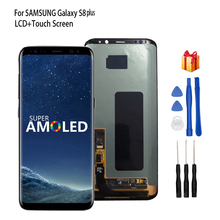 Original For Samsung Galaxy S8 S8 Plus LCD Display Touch Screen Digitizer Assembly For Galaxy S8 G950/S8 Plus G955 Repair Parts стоимость