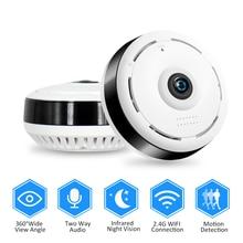 HD 960P Wifi IP kamera do domowego systemu alarmowego bezprzewodowa 360 stopni panoramiczna kamera telewizji przemysłowej noktowizor rybie oczy obiektyw VR Cam