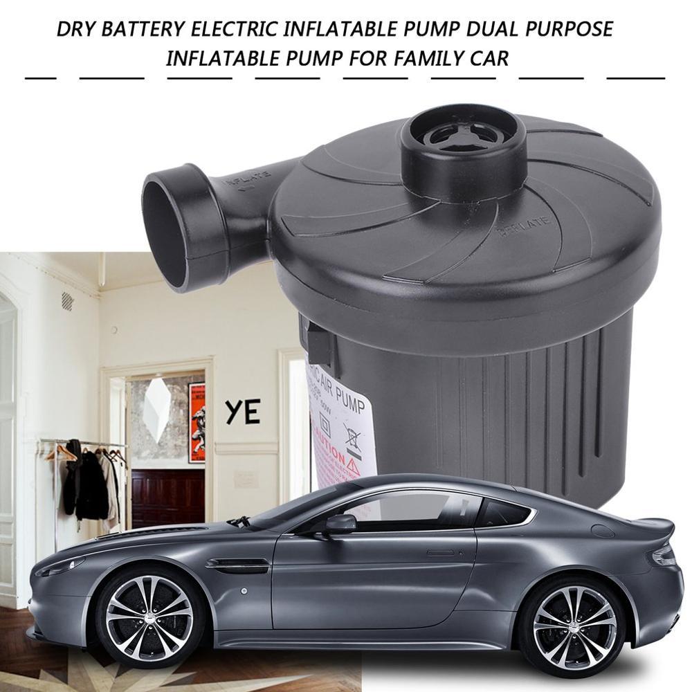 US Plug Household Electric Air Pump Inflate Deflate Pumps Car Inflator Electropump Boat Electric Blower Pump