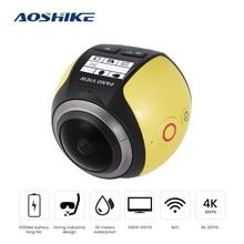 AOSHIKE Panoramic Action Camera 3D VR 360 Camera