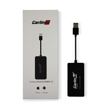 Carlinkit inalámbrico inteligente enlace Apple CarPlay Dongle para Android reproductor de navegador Mini USB Carplay Stick con Android Auto(China)