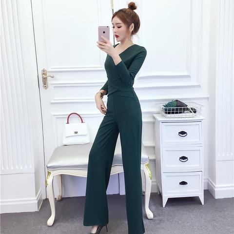 Women New arrival Clubwear Slim  High Waist  Bodycon Party Office Lady Jumpsuits Rompers Multan