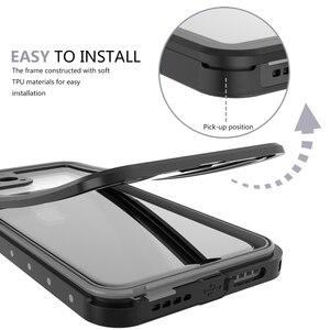 Image 4 - Iphone 11 11 プロマックス 11 プロケース IP68 防水 360 度耐衝撃カバー浮力綿 iphone 11 水中