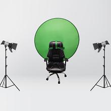142cm Grün Farbe Bildschirm Fotografie Hintergrund Tragbaren Feste Farbe Hintergrund Studio Video Foto Hintergrund Tuch Mit Handtasche