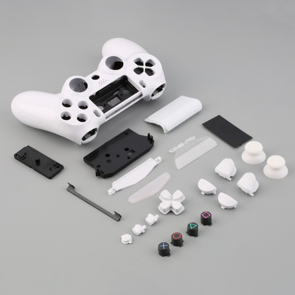 Gamepad Controller Housing Shell W/Buttons Kit for <font><b>PS4</b></font> Handle Cover <font><b>Case</b></font> In stock! image