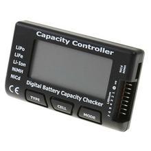 Verificador universal da capacidade da bateria da pilha de digitas de rc CellMeter-7 para a vida lipo li-ion nicd nimh verificador da tensão da bateria verificando