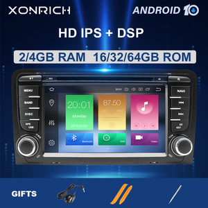 2 Din Android 10 Car Multimedia Player AutoRadio For Audi A3 8P S3 RS3 Sportback 2003 2004 2005 2006 2007 2008 2009 2010 2011(China)