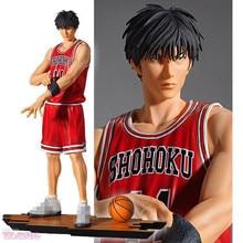 Slam Dunk Shohoku 11 Figure Rukawa Kaede PVC anime SlamDunk Action Figure basketball free shipping