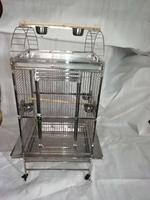45x45x139cm SUS304 STAINLESS STEEL BIRD CAGE FOR BIRD PARROT MACAW PLAY TOP STYLE Parrot CAGE