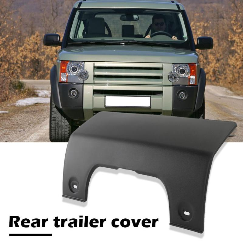 Rear Bumper Tow Eye Cover Panel With Clips For Land Rover LR3 LR4 Discovery 3//4