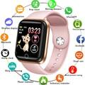 LIGE, умные часы для женщин, фитнес-трекер, пульсометр, измеритель артериального давления, шагомер для Android ios, умные спортивные часы для здоров...