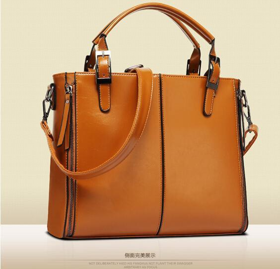 100% Genuine leather Women  handbags 2021 new female killer Bag Shoulder Bag Handbag Single Ladies European leather female bag 3