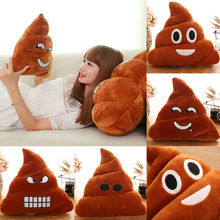 Hot Poop Poo Family Emoji Emoticon Pillow Stuffed Plush Soft Cushion Doll Pillow Filled Plush Toys Mats Fun Stylish Comfort Soft цена 2017