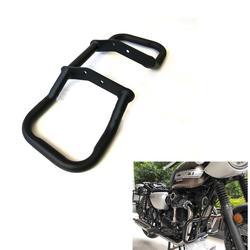 Barre de protection de moteur en métal de moto noire pour Kawasaki W400 W650 W800