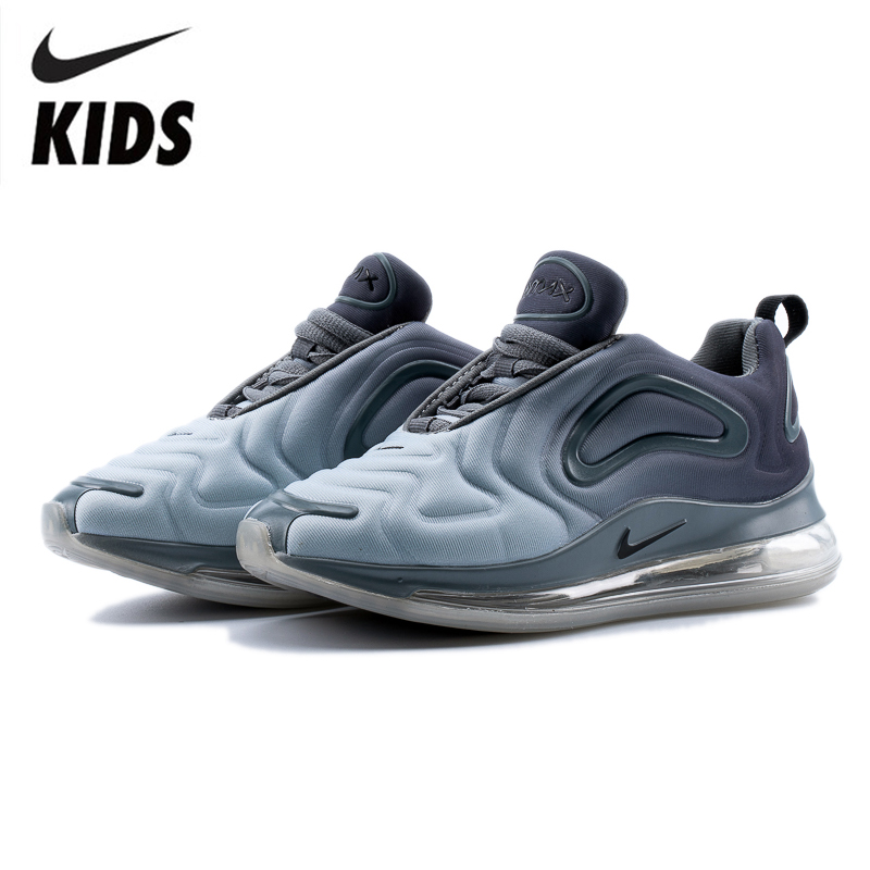 Nike Air Max 720 Kids Shoes Original New Arrival Children Running Shoes Comfortable Sports Air Cushion Sneakers #AO9294-002