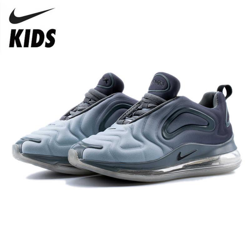 Nike Air Max 720 Scarpe Per Bambini Originale Nuovo Bambini di Arrivo Runningg Scarpe Confortevoli Sport Cuscino D'aria Scarpe Da Ginnastica # AO9294-002