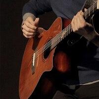 Guitarra acústica clásica de 38 pulgadas, 6 cuerdas, guitarra de madera sólida, 19 trastes para estudiantes principiantes