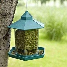 Новинка, хит, кормушка для диких птиц, для улицы, кормушки для птиц, контейнер для еды, подвесная беседка, кормушка для птиц, для украшения сада