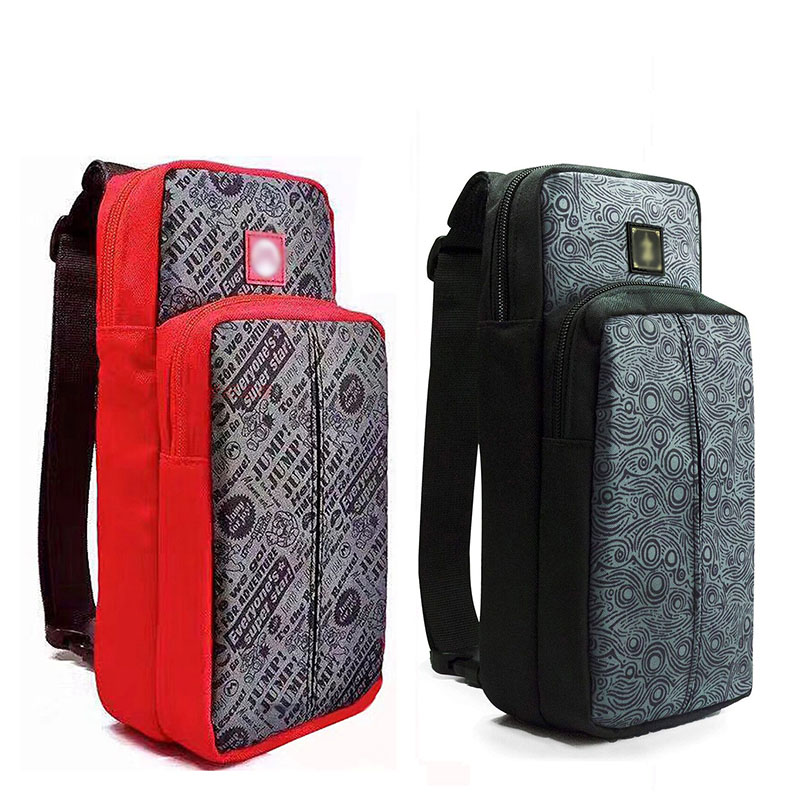 Crossbody Bag for Nintendo Switch Travel Carry Case Shoulder Storage Bag for Console & Dock Game Accessories Protective Bags 6
