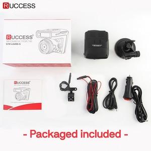 Image 5 - Ruccess DVR Xe Ô Tô Cảm Radar GPS 3 Trong 1 Full HD 1296P 1080P Đầu Ghi Hình Camera Ống Kính Kép dash Cam Speedcam Nga